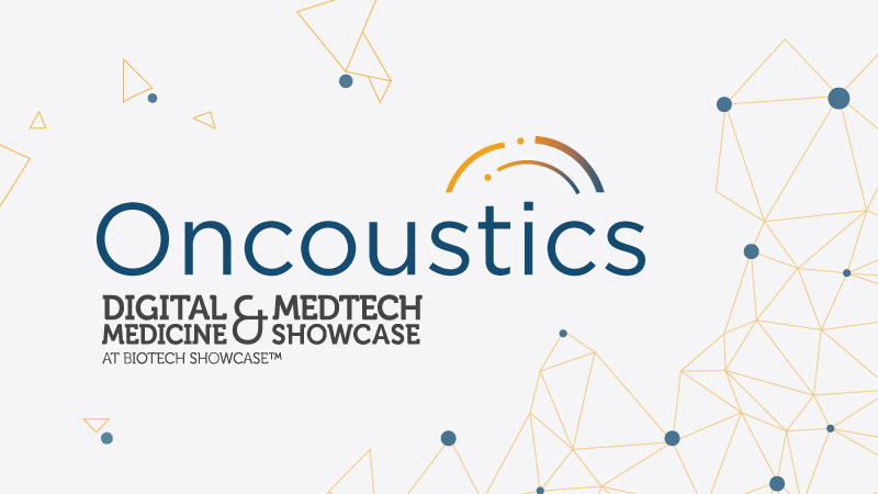 Oncoustics Attends the Digital Medicine and Medtech Showcase, 2020